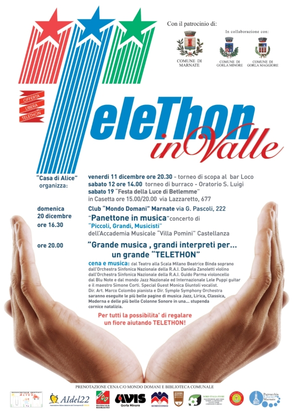 TELETHON in VALLE 2015